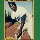 1987 Hygrade All-Time Greats 80A Jackie Robinson