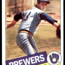 1985 Topps 419 Mike Caldwell