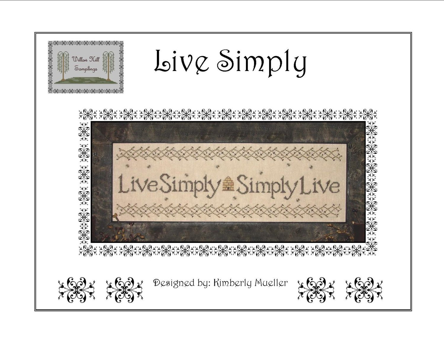 Live Simply Sampler Pattern