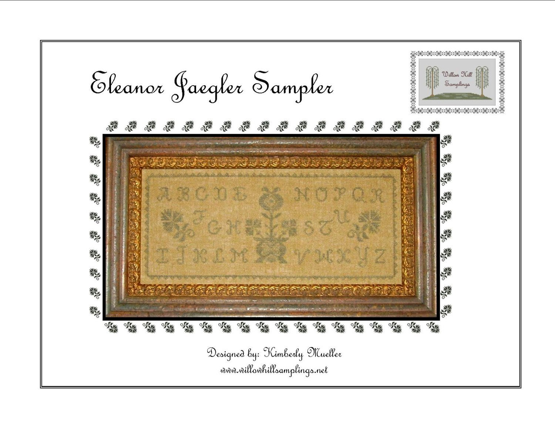Eleanore Jaegler Sampler cross stitch pattern