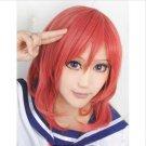 Nishikino Maki Red Cosplay Fashion Wig Costume Heat Resistant Hair Wigs