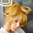 Vocaloid Kagamine Len Rin Cosplay Wig Guaranteed heat resist synthetic fiber cosplay wig