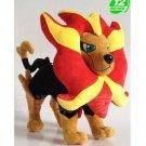 "pocket monster center Pyroar plush toy stuffed doll new 12"""
