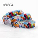 "10 yard 7/8"" Trolls Printed Grosgrain Ribbon bows for needlework ribbons 22 mm"