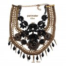 Vedawas Fashion Jewelry Maxi Necklace For Women New Hot Rhinestone Beads Collar Choker Necklace