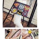 Superhero Avengers Rivet Gothic Punk Handy Wrist Clutch Bag