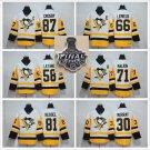 2017 Stanley Cup Finals . Pittsburgh Penguins 71 Evgeni Malkin 87 Sidney Crosby 30 Matt Murray Black
