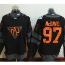 2016 World Cup Ice Hockey Jerseys Black Edmonton Oiler 97 Connor McDavid color black