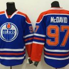 2016 World Cup Ice Hockey Jerseys Black Edmonton Oiler 97 Connor McDavid color blue