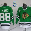 # 88 Patrick Kane Chicago Blackhawks Ice Hockey Jerseys color green