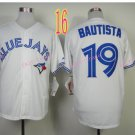 Top Quality ! Toronto Blue Jays Jersey Troy Bautista  #19 Jerseys while