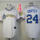 2015 Ken Griffey Jr Jersey Cool Base Seattle Mariners 1979 Turn Back retro white style 2