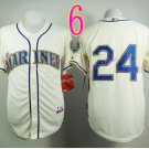 2015 Ken Griffey Jr Jersey Cool Base Seattle Mariners 1979 Turn Back retro white style 3