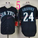 2015 Ken Griffey Jr Jersey Cool Base Seattle Mariners 1979 Turn Back retro black
