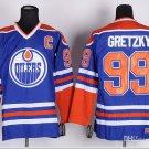 #99 Wayne Gretzky  Edmonton Oilers Ice Hockey Third Mens Premier Stitched Jerseys style 2