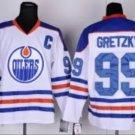 #99 Wayne Gretzky  Edmonton Oilers Ice Hockey Third Mens Premier Stitched Jerseys style 3