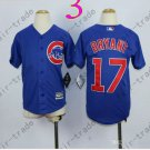 Chicago Cubs Jersey Kids 17 Kris Bryant Jersey color blue