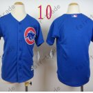 Chicago Cubs Jersey Kids  Jersey color blue Stitched Youth Baseball Shirt