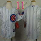 Chicago Cubs Jersey Kids  Jersey color white Stitched Youth Baseball Shirt