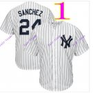 new york yankees #24 gary sanchez 2016 Baseball Jersey Rugby Jerseys Authentic