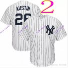 new york yankees #26 tyler austin 2016 Baseball Jersey Rugby Jerseys Authentic