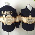 2017 Toronto Maple Leafs Jerseys 100th Anniversary 16 Mitch Marner Hockey Jersey black