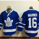 2017 Toronto Maple Leafs Jerseys 100th Anniversary 16 Mitch Marner Hockey Jersey blue