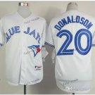 toronto blue jays #20 josh donaldson 2015 Baseball Jersey Rugby Jerseys Authentic Stitched white