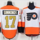 50th Anniversary Philadelphia Flyers Jerseys 17 Wayne Simmonds Winter Classic Gold Throwback Hockey