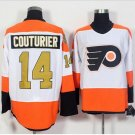 50th Anniversary Philadelphia Flyers Jerseys 14 Sean Couturier Winter Classic Gold Throwback Hockey