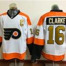 50th Anniversary Philadelphia Flyers Jerseys  #16 Bobby Clarke Winter Classic Gold Throwback Hockey