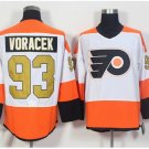 50th Anniversary Philadelphia Flyers Jerseys Jakub Voracek #93 Classic Gold Throwback Hockey