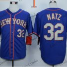 New York Mets 32 Steven Matz 2015 Baseball Jersey Rugby Jerseys Authentic Stitched style 1