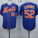 New York Mets  #52 Yoenis Cespedes 2015 Baseball Jersey Rugby Jerseys Authentic Stitched style 1