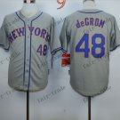 New York Mets  #48 Jacob DeGrom  2015 Baseball Jersey Rugby Jerseys Authentic Stitched style 4
