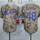 New York Mets  #48 Jacob DeGrom  2015 Baseball Jersey Rugby Jerseys Authentic Stitched style 5