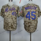 New York Mets  #45 Zack Wheeler 2015 Baseball Jersey Rugby Jerseys Authentic Stitched style 2