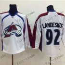 2016 Stadium Series Colorado Avalanche 92 gabriel landeskog Ice Winter Jersey Hockey Jerseys style 1
