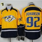 Hot Jerseys Nashville Ice Hockey Ryan Johansen #92 Team Color Yellow