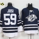 Hot Jerseys Nashville Ice Hockey 59 Roman Josi  Team Color Alternate Blue