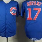 Chicago Cubs 17# Kris Bryant 2015 Baseball Jersey Rugby Jerseys Authentic Stitched style 1