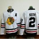 2017 Winter Classic Jerseys Chicago Blackhawks  #2 Duncan Keith  White Jersey