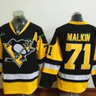 Pittsburgh Penguins 2017 Stanley Cup Champions patch 71 Evgeni Malkin Stanley Cup Champions Jersey