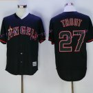 Los Angeles Angels 27 Mike Trout Jersey Flexbase LA Angels Mike Trout Baseball Jerseys black