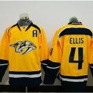 #4 Ryan Ellis 2017 Champion Patch Hockey Jersey Nashville Predators