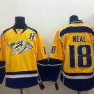 #18 James Neal 2017 Champion Patch Hockey Jersey Nashville Predators