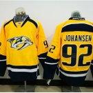 #92 Ryan Johansen 2017 Champion Patch Hockey Jersey Nashville Predators