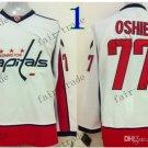 washington #77 tj oshie Throwback Vintage Jersey ICE Hockey Jerseys Heritage Stitched White