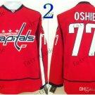 washington #77 tj oshie Throwback Vintage Jersey ICE Hockey Jerseys Heritage Stitched