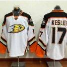 Anaheim Ducks 2017 Stanley Cup Finals patch Playoffs 17 Kesler White Hockey Jerseys